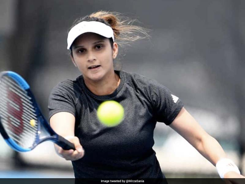 Sania returns to match after two years, wins Hobart International tournament
