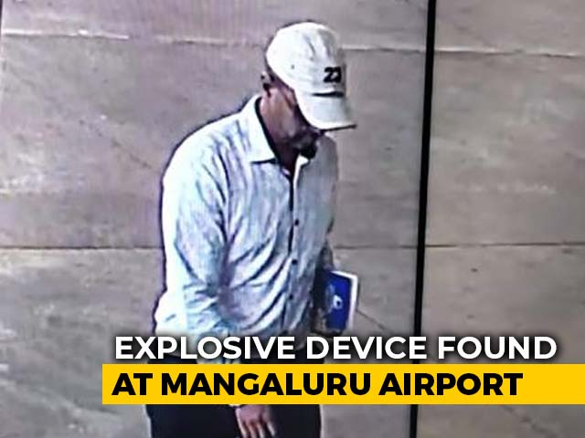 Video : Explosive Found At Mangaluru Airport, Police Release Suspect's Photograph