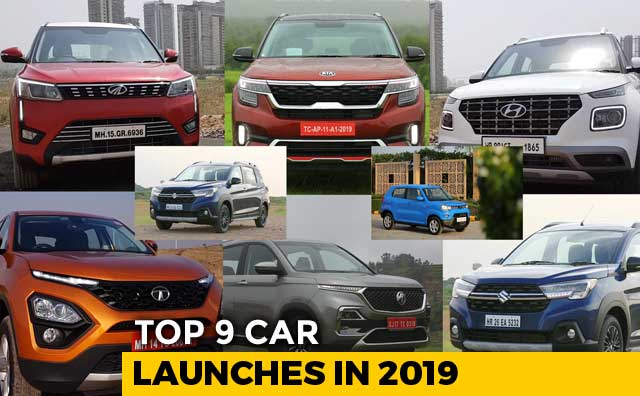 Video : Top 9 Car Launches In 2019