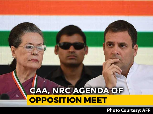 Video: Stop NPR: Opposition's Message To Chief Ministers Against Citizens' List