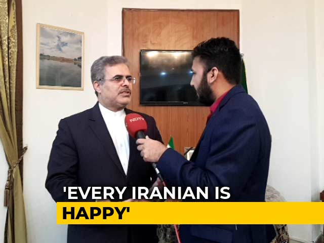 """Video : """"Retaliated Only In Defence"""": Iran's Envoy To India On Missile Strikes"""