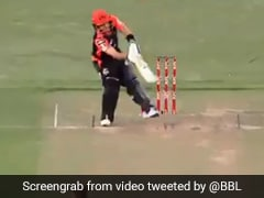Watch: Ricky Ponting Left Stunned By 'Brendon McCullum-Like' Six In BBL