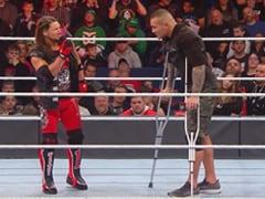 WWE में बैसाखी में पहुंचे रैंडी ऑर्टन, रेसलर ने मारी लात तो हवा में उछलकर किया ऐसा... देखें Video