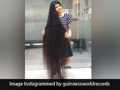 Meet The Gujarat Teen Who Set A World Record With Hair Over 6-Feet Long
