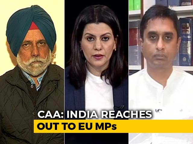 Video : 6 Resolutions On Citizenship Act, Kashmir Moved In EU Parliament