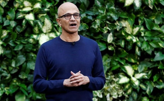 Satya Nadella Lets Microsoft Amplify Its Employees' Anti-Hate Messages