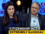 "Video : ""Illogical, Immoral, Ill-timed"": Ramchandra Guha On Citizenship Act"