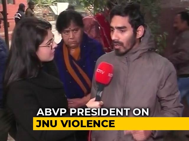Video : The JNU Violence Started On Friday, Says ABVP