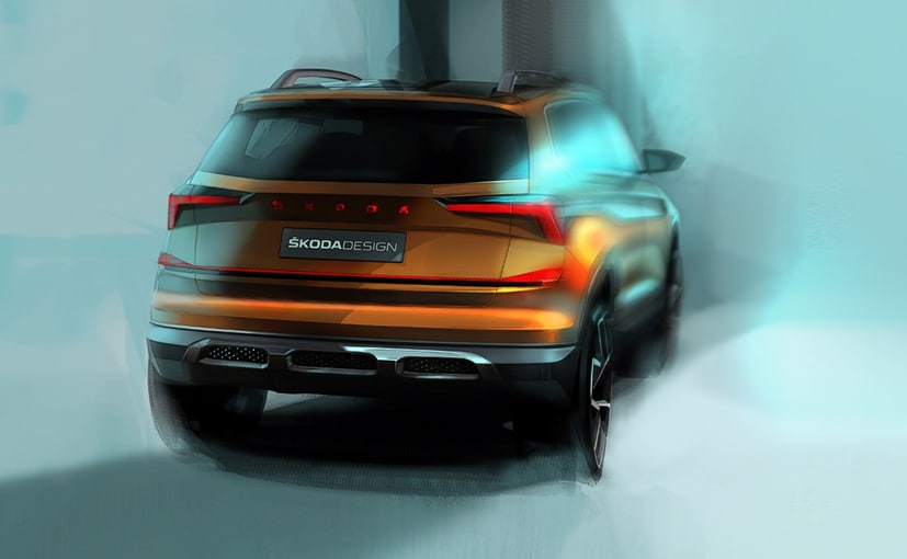 Auto Expo 2020: Skoda Vision IN Concept Exterior Sketches Revealed