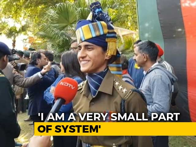 """Video : """"Takes Courage"""": Captain Tania Shergill On Joining Army, Leading Parade"""