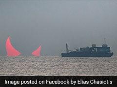सूर्य ग्रहण की इस फोटो में दिखे ''समुद्र के सींग'', सोशल मीडिया पर वायरल हो रही हैं PICS