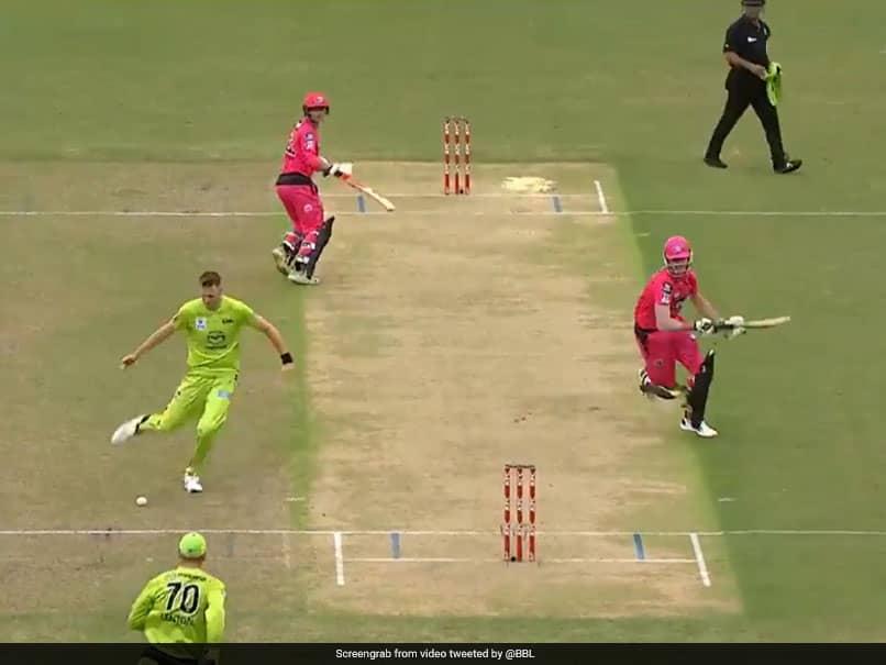"Watch: Chris Morris Exhibits ""Elite Footwork"" To Run Out Batsman In BBL Game"