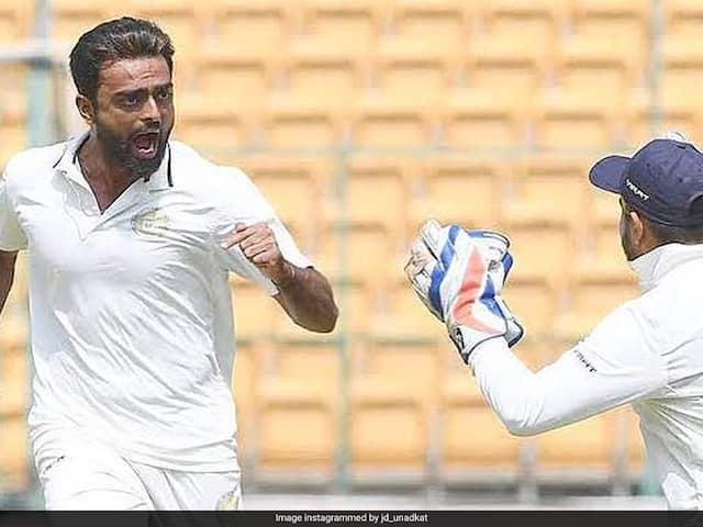 Ranji Trophy: Jaydev Unadkat Shines As Saurashtra Pull Off Close Win Against Baroda