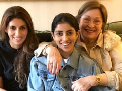 Shweta Bachchan's Tribute To Mother-In-Law Ritu Nanda. It's OK To Cry