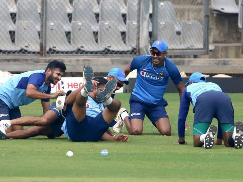 """Missed This Amazing Feeling"": Hardik Pandya Trains With Indian Team"