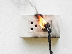 Dangerous 'Outlet Challenge' Sweeps TikTok, Prompts Fire Safety Warning