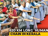 Video : Kerala Chief Minister, Newly Weds In 620-Km Human Chain Against Citizenship Law