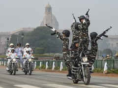 CRPF's All-Woman Biker Squad To Make Debut On Republic Day