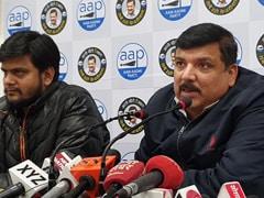दिल्ली चुनाव : संजय सिंह ने कहा-  बीजेपी 'बिना दूल्हे की बारात', चुनाव से पहले ही मान ली हार