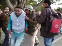 On Camera, Assam Cops Thrash Citizenship Law Protesters As Chief Minister's Convoy Passes