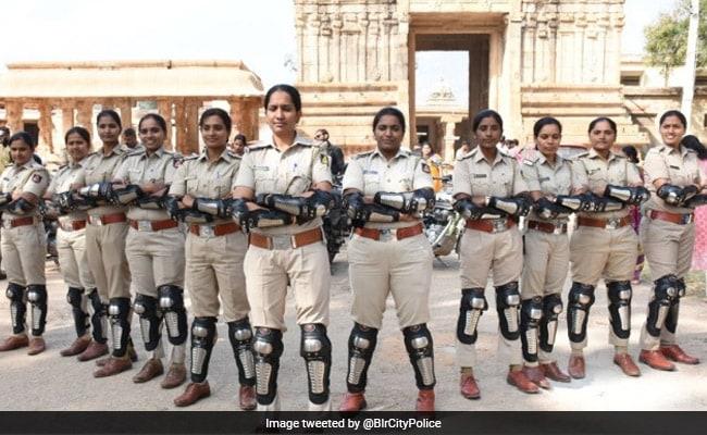 Mannequins, Dressed As Policewomen, In Bengaluru Soon