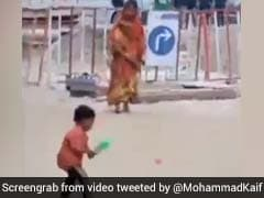 मां ने फेंकी गेंद तो बच्चे ने मारा ऐसा तगड़ा शॉट, मोहम्मद कैफ ने दिया ऐसा रिएक्शन, देखें Viral Video
