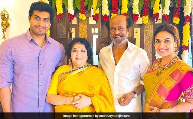 Pongal 2020: Inside Rajinikanth's Festivities With Wife Latha, Daughter Soundarya And Son-In-Law Vishagan Vanangamudi