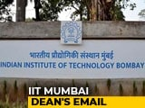"Video : ""Can't Participate In Anti-National Activities"": IIT-Bombay To Students"
