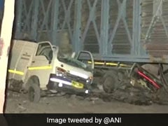 2 Injured As Part Of Under-Construction Overbridge Collapses In Mumbai