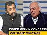 Video : Why Would I Validate CAA, No Question Of That: Kapil Sibal To NDTV