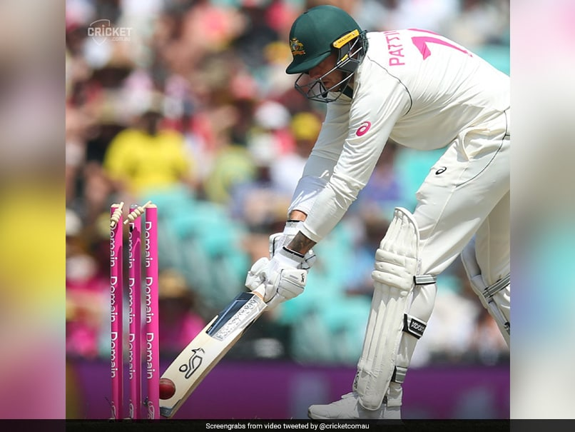 """Youve Got To Be Kidding"": Watch James Pattinsons Bizarre Dismissal In Sydney Test"