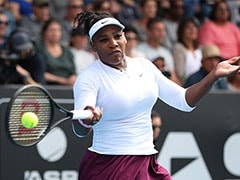 Auckland WTA Classic: Serena Williams Beats Camila Giorgi In Straight Sets