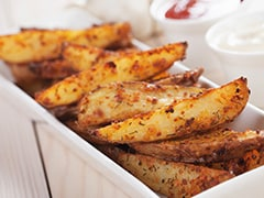 Cooking Tips: Easy Baked Potato Wedges Recipe For Mid-Day Hunger Pangs