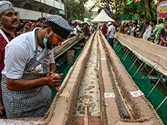 World's 'Longest' Cake, Courtesy 1,500 Kerala Bakers, Chefs