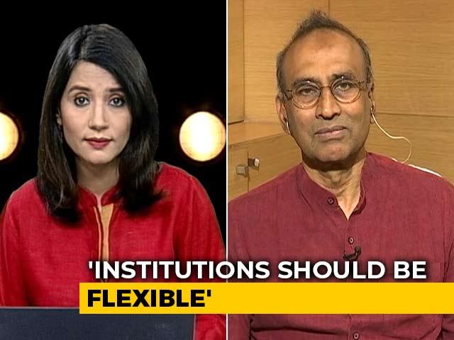 "Video : ""Government Should Be Tolerant Of Dissent"": Nobel Winner Venkatraman Ramakrishnan"