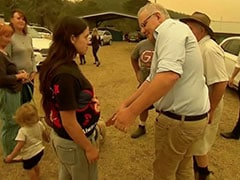 """""""You're An Idiot"""": Australia PM Heckled By Angry Bushfire Victims"""