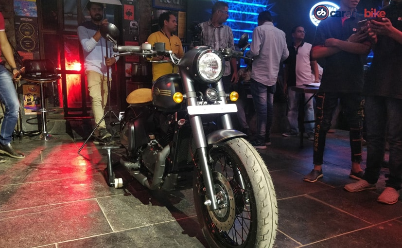 The Jawa Perak will be India's first factory-custom bobber motorcycle