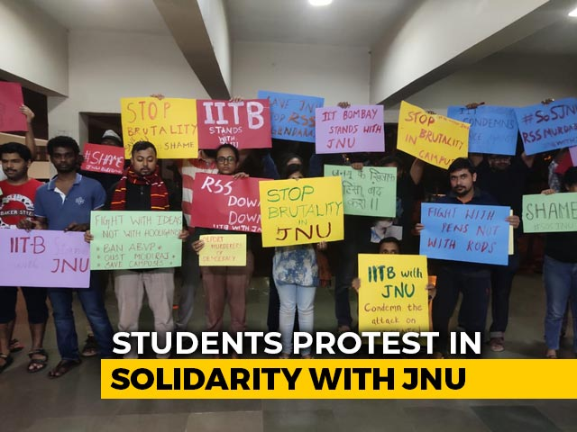 Video : Hours After JNU Attack, Student Protests Flare Up Across The Country
