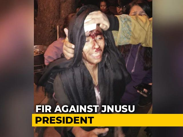 Video : As JNU Student Leader Was Bleeding, 2 Cases Against Her Within 4 Minutes