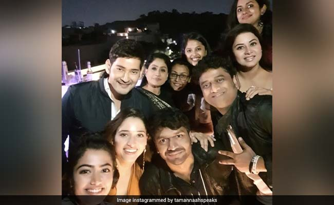 Tamannaah Bhatia Parties With Mahesh Babu, Namrata Shirodkar And Other Stars. See Viral Pics