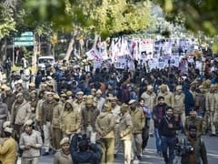 Hundreds March In Delhi Protests, Demand JNU Vice-Chancellor's Removal