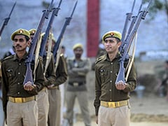 Uttar Pradesh Police Decommission Historic British-Era Rifles On Republic Day