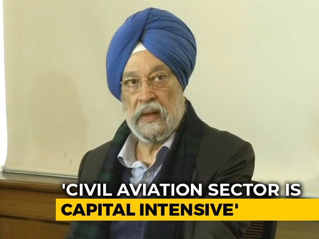 Video : Current Situation Of Air India Is Very Fragile, Says Civil Aviation Minister