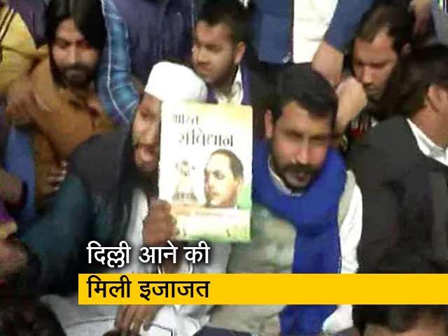 Video : दिल्ली चुनाव से पहले भीम आर्मी चीफ चंद्रशेखर को कोर्ट ने दी राहत