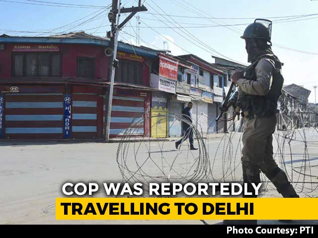 Video : J&K Cop Caught With Hizbul Terrorists To Be Treated As Terrorist: Police