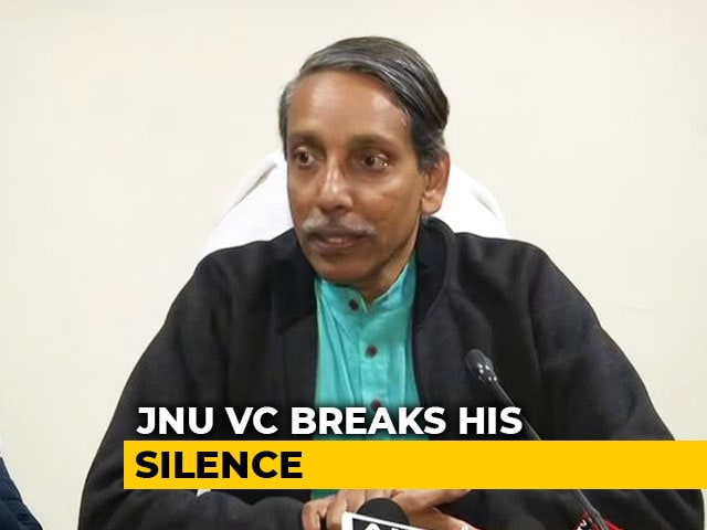 "Video : ""Let Us Make New Beginning"": JNU Vice Chancellor Amid Outrage Over Attack"