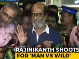 Video : 'Some Scratches... I'm Alright': Rajinikanth On 'Man vs Wild' Shoot