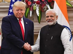 India And US Ink Three Pacts During Donald Trump's Visit