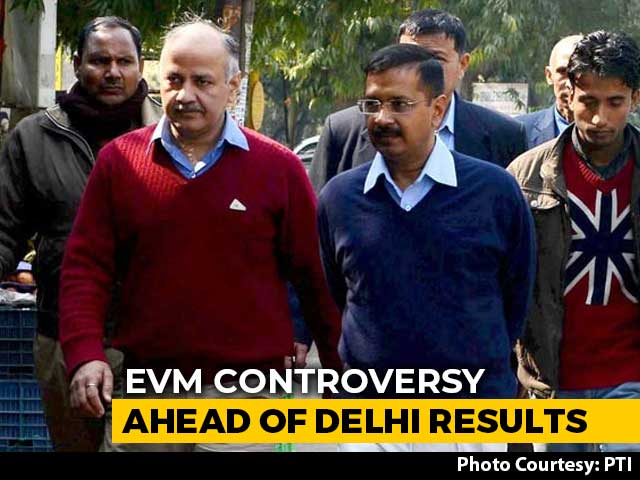 Video : After Delhi Polls, AAP Cites Videos, Says Voting Machines Tampered
