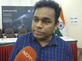Video : AR Rahman's Dream For Drinkable Tap Water In Tamil Nadu